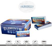 Elements Filtri In Carta sono filtri forati Filtro Tips SCATOLA DA 25 BLOCCHETTI
