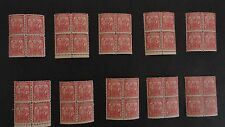 United States Stamps  #717 1932 Vintage 2 cent Arbor Day 23 Blocks of 4 Mint, NH