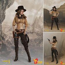1/6 Lauren J Begins Western Cowgirl Set Action Figure - T.S.toys - NEW