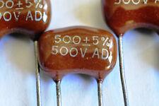 500pf Mica Capacitor 500pf 500v 5 X10 Pieces