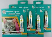 4 doses Generic Frontline Plus for Cats flea tick 4 month supply 4pk USA Seller