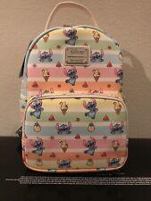 Disney Loungefly Lilo & STITCH Rainbow Fruits Mini Backpack Bag Crossbody - NEW