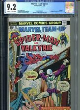 Marvel Team-Up #34 CGC 9.2 (1975) Spider-Man Valkyrie Nighthawk Looter