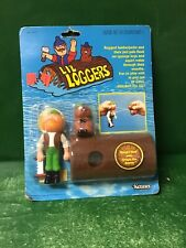 1982 Li'L Loggers:Ranger Rick And Chops The Beaver Nic By Kenner