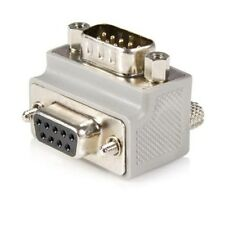 StarTech.com Right Angle DB9 to DB9 Serial Cable Adaptor Type 1 - M/F