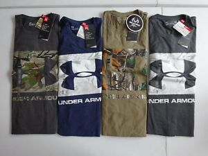 Under Armour Men's Camo Knockout Logo Hunting Long Sleeve Tee NWT