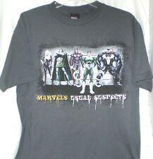 "MARVEL COMICS VILLAINS DR. DOOM, MAGNETO,VENOM,DR. OCTOPUS T SHIRT XL NWT""S"