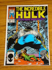 INCREDIBLE HULK #339 VOL1 MARVEL COMICS MCFARLANE JANUARY 1988