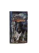 Monster Hunter Freedom Unite (Sony PSP, 2009) missing book.