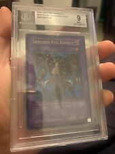 Thousand-Eyes Restrict BGS 9 DB1-EN195 Ultra Rare Mint! Beckett Dark Beginning 1