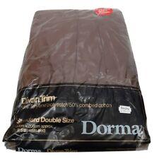 Vintage Retro Dorma Brown Double Divan Trim Brand New To Fit 5' Bed Easycare