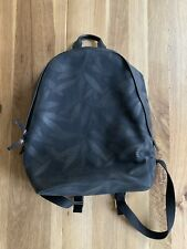 51e2a3508d Paul Smith Black canvas with leather trim backpack