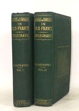 MUSGRAVE Nooks and Corners old France 13 gravures Edition originale 1867 LA XIX