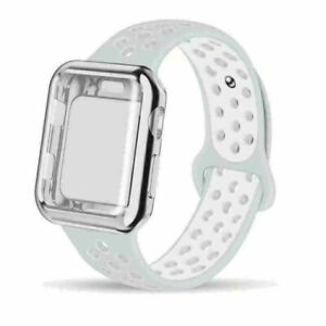 Protecor Sports Strap Band Replacement Case For Apple Watch Series 3 4 5 6 SE