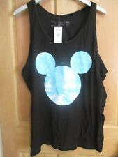 b6aac97355268d NEFF DISNEY COLLECTION MENS XL MICKEY MOUSE BLACK BLUE TANK TOP T-SHIRT