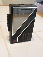 Sanyo Mgr74 M Gr 74 Green Am/Fm Cassette Player 3-Band Equalizer Tested & Works!