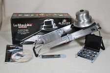 de Buyer La Mandoline Ultra Deluxe Stainless Slicer Dicer France ** NIB **