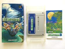 Seiken Densetsu 3 Super Famicom SFC SNES Japan Free Shipping