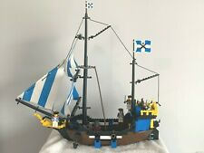 COMPLETE 1989 PIRATE LEGO SET 6274 CARIBBEAN CLIPPER - IN GREAT CONDITION