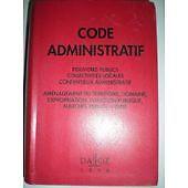 Collectif - Code administratif - 1996 - relié