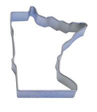 "Minnesota  Shape Cookie Cutter 3.25""  Fondant Baking State Map Sugar"