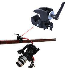 Große Clamp Klammer für Kamera Blitz Stativ Leuchtenstativ Lampenstativ Max.10kg