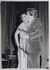 PHOTO vintage Jean LEFEBVRE et miss Paris nue model erotisme U800