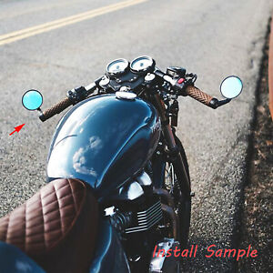Universal Bar End Mirrors Motorcycle Handlebar Mirror Fit For Cafe Racer Honda