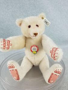 "12-1/2"" Steiff DICKY jointed Teddy Bear L.E. 109 /7000 with tag & ear button"