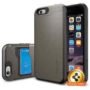 Spigen®Slim Armor CS] Card Slot Case Shockproof Cover For Apple iPhone 6 / 6S