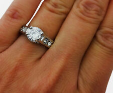 Engagement Ring Promise Ring Wedding Band Bridal Jewlery 1.00ct *US Seller