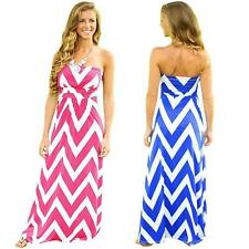 Unbranded Plus Size Striped Maxi Dresses for Women