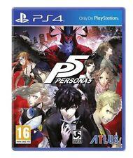 VIDEOGIOCO PERSONA 5 - PS4 GIOCO PLAYSTATION 4 VIDEOGAME P5 ITALIANO NUOVO ATLUS