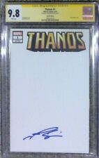 Thanos #1 blank cover variant__CGC 9.8 SS__Signed by Josh Brolin