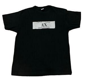 A|X Armani Exchange Cotton Box Logo T-Shirt size L