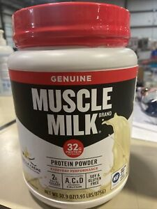 Muscle Milk Lean Muscle Protein Powder, Vanilla Creme - 1.93lbs