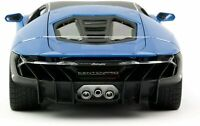 LAMBORGHINI CENTENARIO BLUE METALLIC 1:18 SCALE BY MAISTO 31386
