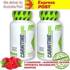 Musclepharm Carnitine Core 60 Capsules Fat Reducer Burner x 2 FREE EXPRESS POST