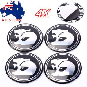 4pcs Holden Wheel Hub Cap Sticker HSV Style Center Caps Black 56MM