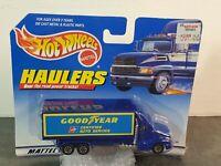 Hot Wheels Mattel Goodyear Haulers Semi Truck 1998
