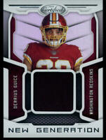 2018 CERTIFIED NEW GENERATION DERRIUS GUICE REDSKINS ROOKIE CARD PATCH