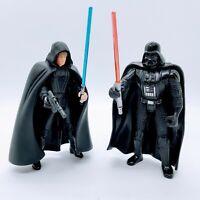 1996 Star Wars Luke Skywalker Jedi Knight Darth Vader Action Figure Lot Vintage
