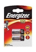 Energizer Cr123 Photo Lithium Batteries - 2-pack