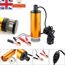 Combustible diesel bomba eléctrica de Transferencia Recarga 12 V DC SUMERGIBLE filtrada