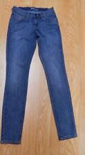 OLD NAVY The Flirt Skinny Straight leg Jeans Antique Wash Blue Stretch Size 00