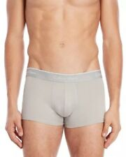 Calvin Klein Microfiber Low Rise Trunk NP2034O - 2 Pack - Heather Gray - Small
