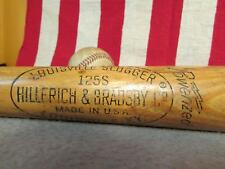 "Vintage Louisville Slugger Wood 125S Baseball Bat Harmon Killebrew Model HOF 32"""