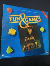 Fun & Games Interactive - Laserdisc