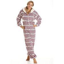 Gepunktete Langarm Damen-Nachtwäsche für die Freizeit