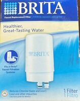 Brita Faucet Replacement Filter,  White Filter, 1 Filter - Opened Box